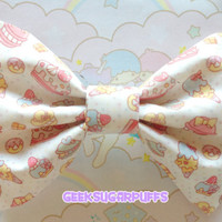 Fairy Kei Lolita Bow Kawaii Sweets by GeekSugarPuffs on Etsy