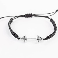 Barbell Bracelet, Workout Bracelet