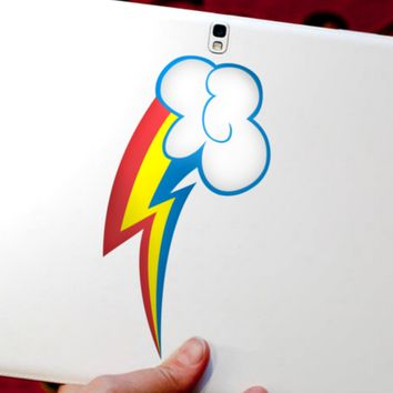 My Little Pony Rainbow Dash Vinyl Decal - MLP - Brony Sticker