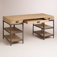 Wood and Metal Teagan Desk
