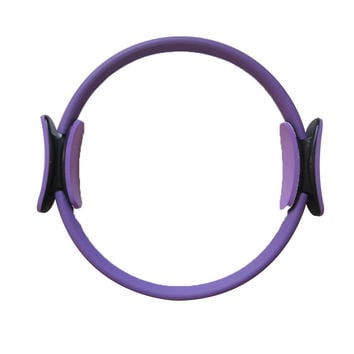 """14"""" Black Magic Pilate Ring Circle Magic Exercise Fitness Workout Sport Weight Loss Purple"""
