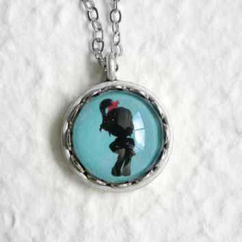 Vanellope Von Schweetz Shadow Petite Necklace - Inspired from Disney's Wreck It Ralph