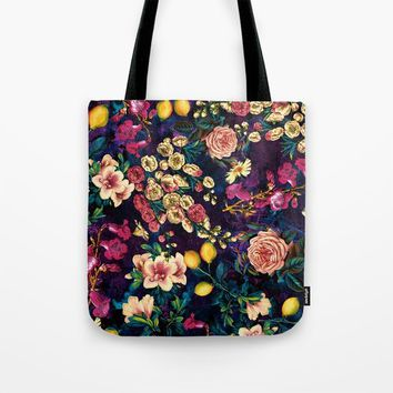 NIGHT FOREST XXII Tote Bag by Burcu Korkmazyurek