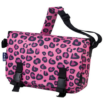 Pink Leopard Jumpstart Messenger Bag - 54214