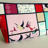 Extra Large Cosmetic Bag Toiletry Bag Travel Bag Makeup Bag in Feeding Station