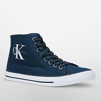 ozzy high top canvas sneaker | Jeans | Calvin Klein