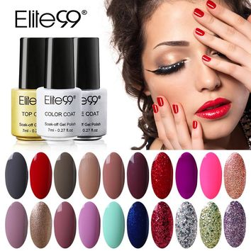 Elite99 Gel Nail Polish - Various Colors
