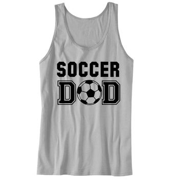 Soccer DAD Unisex Tank Top - For the best Dad Ever