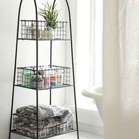 Tiered Wire Storage Shelf