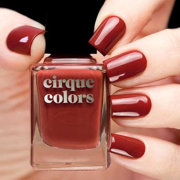 Cirque Red Hook Nail Polish (Metropolis 2017 Collection)