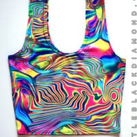 Acid Crop Top Tank