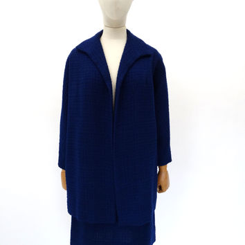 VINTAGE 1950s SWAGGER SKIRT SUIT 10