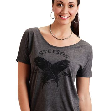Stetson  Feathers Tee