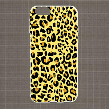 Leopard Texture 02 iPhone 4/4S, 5/5S, 5C Series Hard Plastic Case