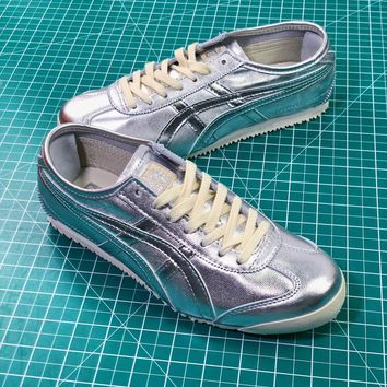 Asics Onitsuka Tiger Mexico66 Silver Casual Shoes Sneakers Sale