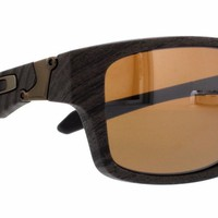 New OAKLEY Sunglasses JUPITER SQUARED OO9135-07 Woodgrain 56MM Fast Ship