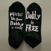 Black Harry Potter Socks