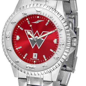 Western State Colorado University Mountaineers Competitor Steel AnoChrome Watch