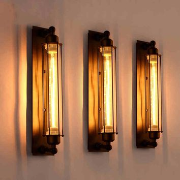 Corridor Vintage Retro Industrial  Wall Lamp Led W-filament Indoor