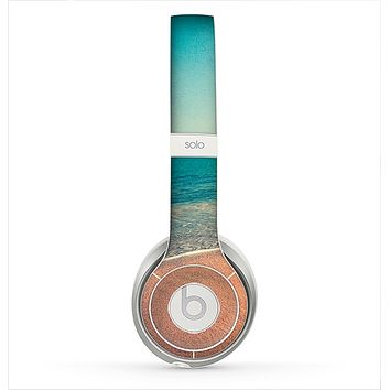 The Vintage Beach Scene Skin for the Beats by Dre Solo 2 Headphones