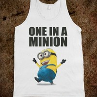 ONE IN A MINION TANK - UNDERLINEDESIGN