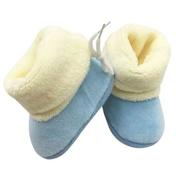 Baby Shoes Winter Snow Boots Toddler Girl cotton