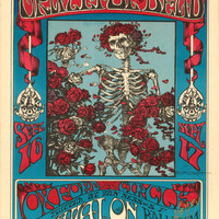 Vintage Music Art Poster - Grateful Dead   0310