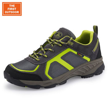 TFO Men Outdoor Climbing Sneakers for Man Sports Shoes Trail Hiking Shoes Athletic Breathable Waterproof Camping Boots 841607