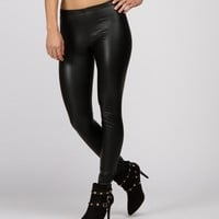 Black Matte Liquid Leggings