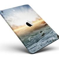 "Majestic Sky on Crashing Waves Full Body Skin for the iPad Pro (12.9"" or 9.7"" available)"