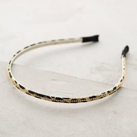 Miau Headband by Anthropologie Brown Motif One Size Hair