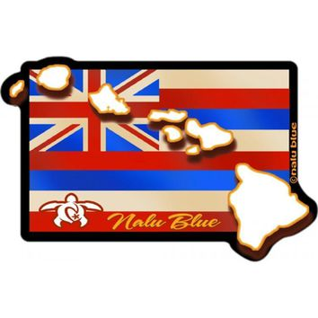 Flag Islands Decal Sticker