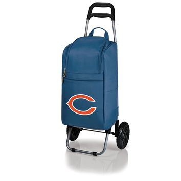 Chicago Bears - Cart Cooler with Trolley (Navy)