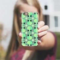 Sad Alien and Daisy iPhone 6 case by chobopop | Casetify