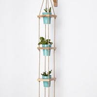 Strung Squares Planter by Anthropologie Neutral One Size House & Home