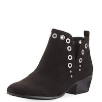 CIRCUS BY SAM EDELMAN Paula Grommet Ankle Bootie, Black