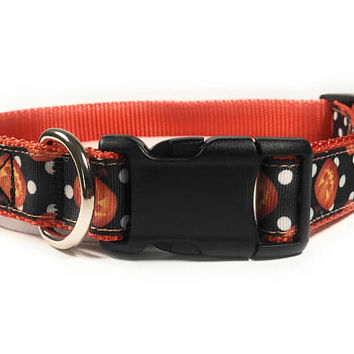 Moonlight Grin Halloween Dog Collar