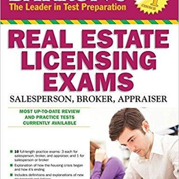 Barron's Real Estate Licensing Exams Barron's Real Estate Licensing Exams 10 Revised