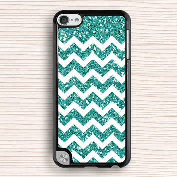 vivid chevron ipod case,blue glitter chevron ipod 4 case,popular ipod 5 case,fashion chevron ipod touch case