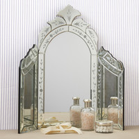 Two's Company Venetian Style Dressing Table Mirror from Elizabeth's Embellishments