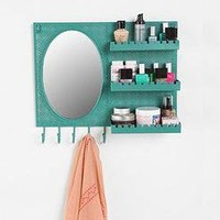 Over-the-Door Vanity Station - Copper - One Size