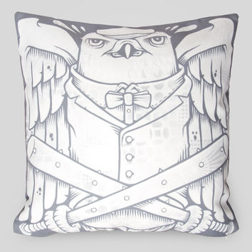 The Falcons Pillow by Jeremy Fish