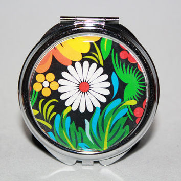 Flower Compact Mirror