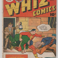 Whiz Comics; V1, 65. VG. May 1945.  Fawcett Magazine.