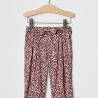 Gap Baby Printed Bow Soft Pants