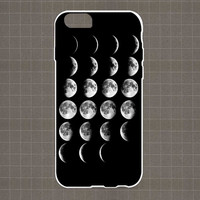 MOON PHASES iPhone 4/4S, 5/5S, 5C Series Hard Plastic Case