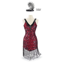 1920s Dress and Headband - Women's Clothing & Symbolic Jewelry – Sexy, Fantasy, Romantic Fashions