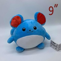 "s Marill #183 Plush Soft Toy Stuffed Animal Doll Teddy 9"" BIGKawaii Pokemon go  AT_89_9"