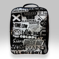 Backpack for Student - Rock Band Logo Bags
