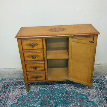 Vintage French Provincial Cabinet / Chest / Sideboard